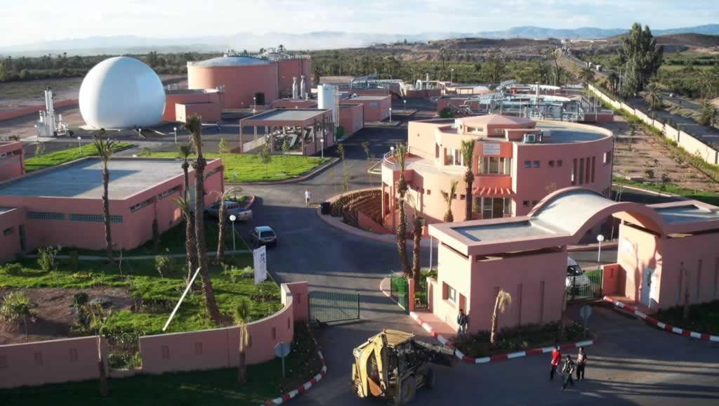 Wastewater treatment plant - Marrakesh