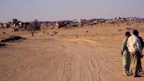 Tine - Bahai - Am Djarras - Bao road