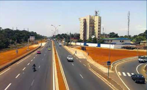 Projet des voies traversantes de Conakry