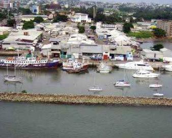 Port de Libreville et Port - gentil