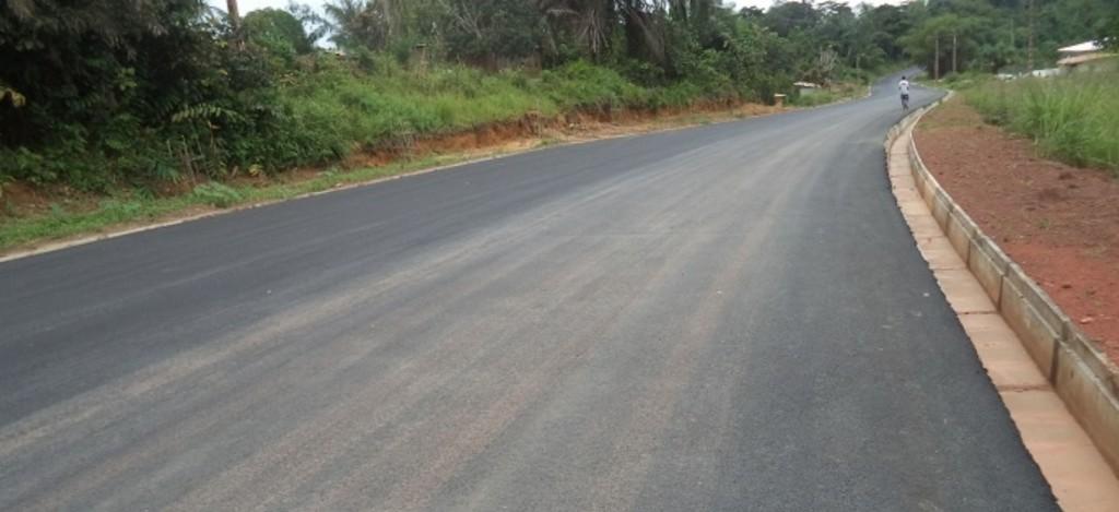 Route Akiéni – Okondja (74 km)