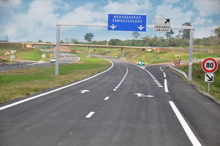 Singrobo - Yamoussoukrou highway