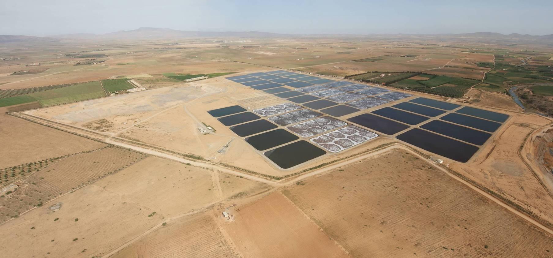 Station de traitement d'eau potable d'Oujda