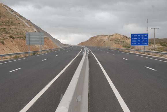 Oujda - Laayoun highway