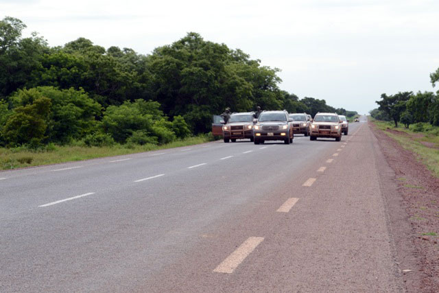 Bobo Dioulasso - Dédougou road