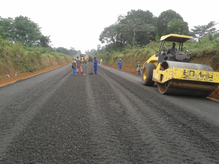 Blouf road in the Casamance region