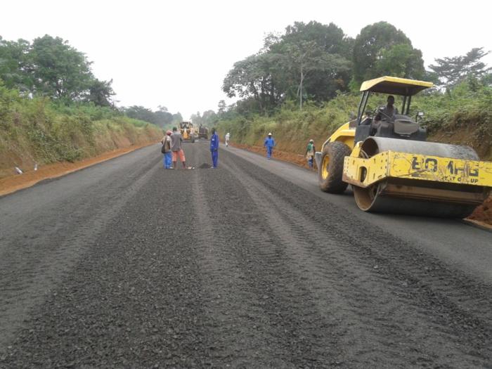 Route du Blouf dans la région de Casamance